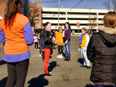 Life Vest Inside flash mob dancing World Kindness Day 38 of 117
