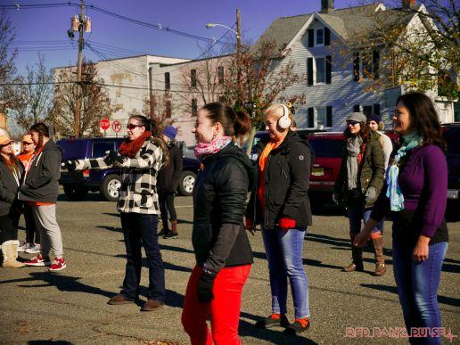 Life Vest Inside flash mob dancing World Kindness Day 39 of 117