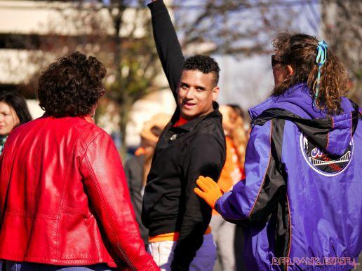 Life Vest Inside flash mob dancing World Kindness Day 61 of 117