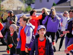 Life Vest Inside flash mob dancing World Kindness Day 69 of 117