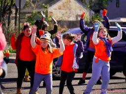 Life Vest Inside flash mob dancing World Kindness Day 73 of 117