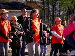 Life Vest Inside flash mob dancing World Kindness Day 74 of 117