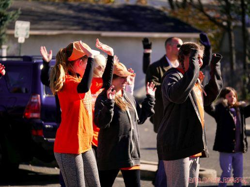 Life Vest Inside flash mob dancing World Kindness Day 75 of 117