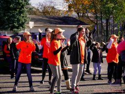 Life Vest Inside flash mob dancing World Kindness Day 76 of 117