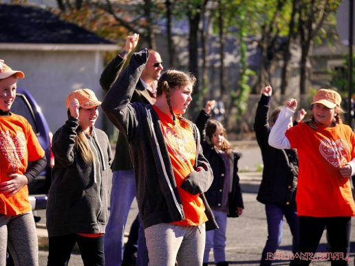 Life Vest Inside flash mob dancing World Kindness Day 81 of 117