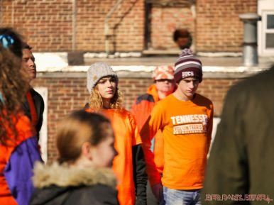 Life Vest Inside flash mob dancing World Kindness Day 9 of 117