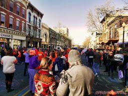 Life Vest Inside flash mob dancing World Kindness Day 99 of 117