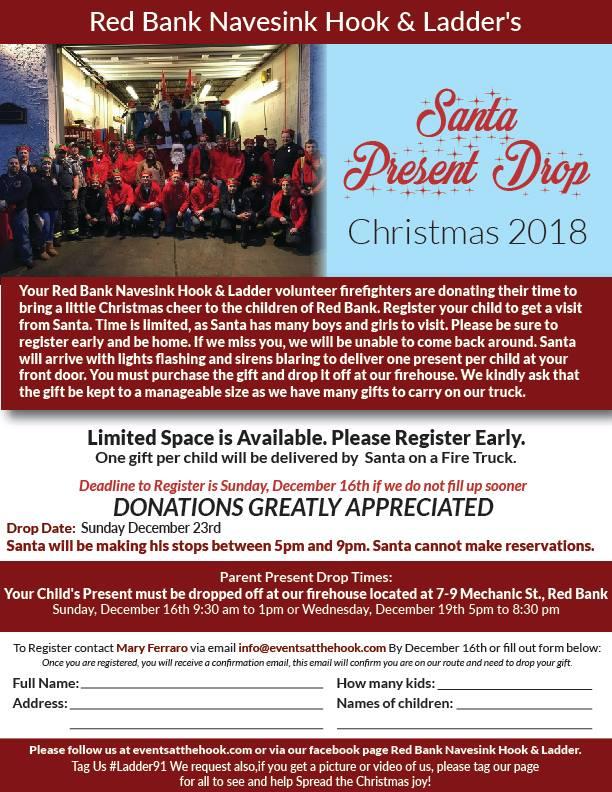 Santa Present Drop 2018