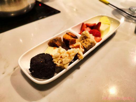 The Melting Pot 3 of 57 chocolate fondue