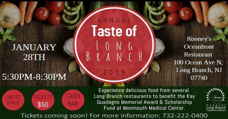 Annual Taste of Long Branch 2019
