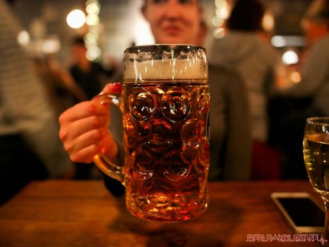 Asbury Festhalle & Biergarten pop-up market & half price menu night 101 of 151 beer