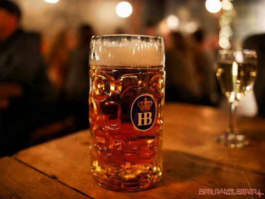 Asbury Festhalle & Biergarten pop-up market & half price menu night 103 of 151 beer