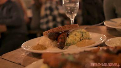 Asbury Festhalle & Biergarten pop-up market & half price menu night 6 of 151 sausage bratwurst