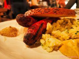 Asbury Festhalle & Biergarten pop-up market & half price menu night 74 of 151 sausage bratwurst