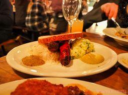 Asbury Festhalle & Biergarten pop-up market & half price menu night 77 of 151 sausage bratwurst