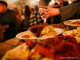 Asbury Festhalle & Biergarten pop-up market & half price menu night 81 of 151 sausage bratwurst