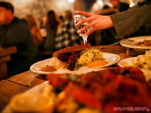 Asbury Festhalle & Biergarten pop-up market & half price menu night 81 of 151 sausage bratwurst