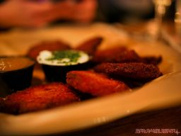 Asbury Festhalle & Biergarten pop-up market & half price menu night 90 of 151 potato pancakes