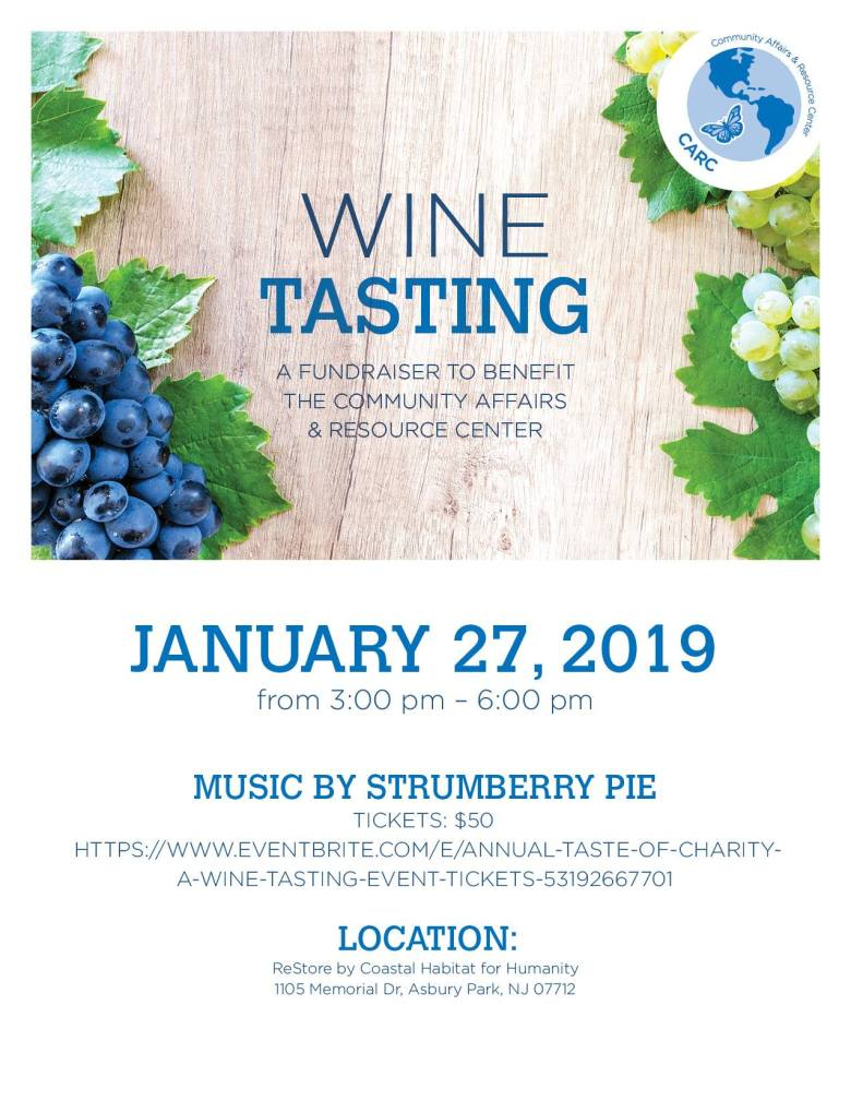 CARC's Wine Tasting and Fundraiser