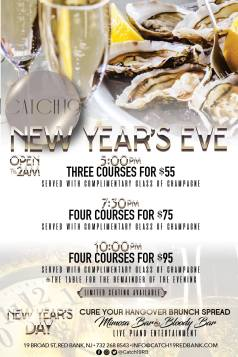 Catch 19 New Year's Eve 2018