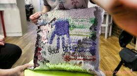 Paint A Tee Sequin Pillows 6 of 73