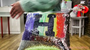 Paint A Tee Sequin Pillows 8 of 73