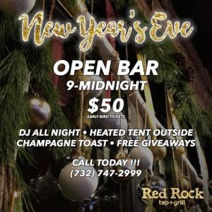 Red Rock Tap + Grill New Year's Eve 2018