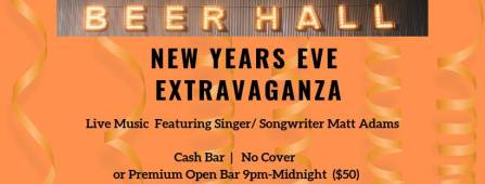 Tennessee Avenue Beer Hall Atlantic City New year's eve 2018