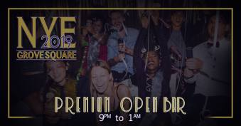 The Bistro - Grove Square Jersey City New Year's Eve 2018