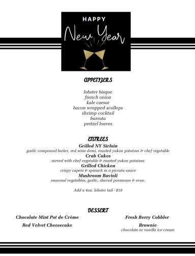 The Proving Ground Waterfront Dining New Year's Eve 2018