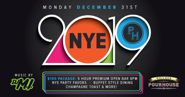 Village Pourhouse Hoboken new year's eve 2018