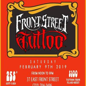 Front Street Tattoo GRand opening