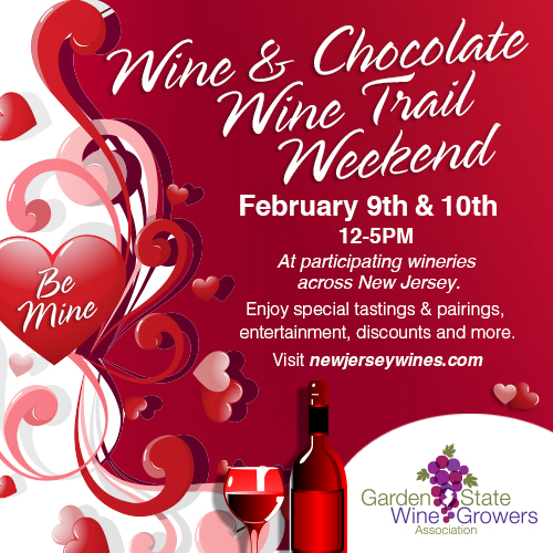 gswga wine & chocolate wine trail weekend laurita winery