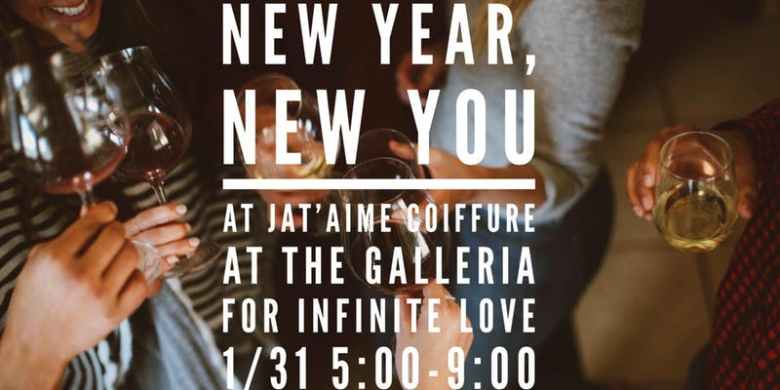new year new you for infinte love je t'aime coiffure