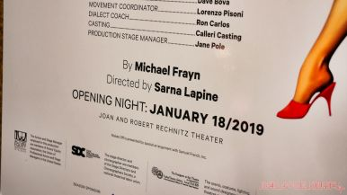 noises off opening night at two river theater 10 of 40