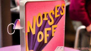 noises off opening night at two river theater 26 of 40