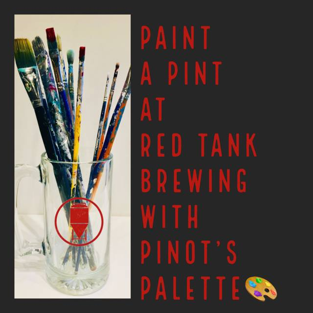 pinot's palette at red tank brewing