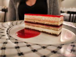 Cafe Loret 6 of 26 raspberry cake
