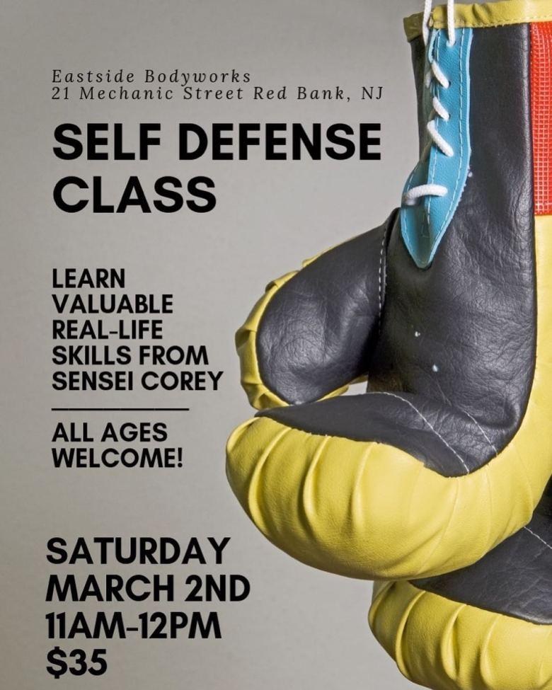 Eastside Bodyworks Self Defense Class