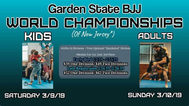 GSBJJ World Championships Garden State Brazilian Jiu-Jitsu