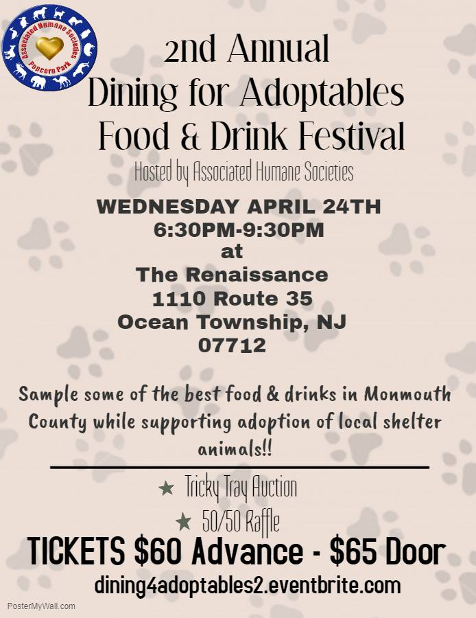 2nd Annual Dining for Adoptables