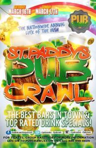 Asbury Park St Patty's Luck of the Irish Crawl 2019