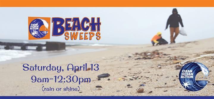 Clean Ocean Action's Spring 2019 Beach Sweeps