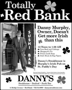 Danny's Steakhouse St. Patrick's Day 2019