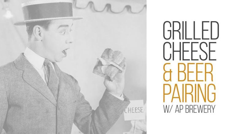 Grilled Cheese + Beer Pairing