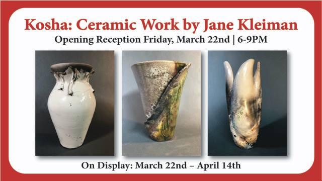 Kosha Ceramic Work by Jane Kleiman Artisan Collective