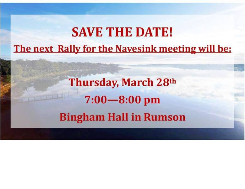 Rally for the Navesink Public Meeting Clean Ocean Action