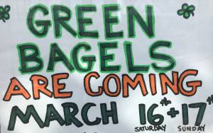 St. Patrick's Day 2019 Bagel Oven