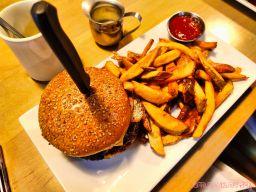 Taylor Sam's 7 of 26 burger