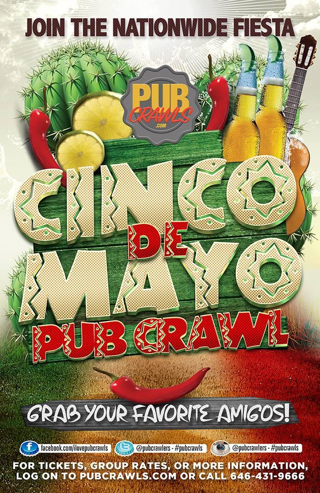 4th Annual Cinco De Mayo Pub Crawl Asbury Park